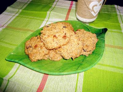Бисквитки с чиа и ленено семе