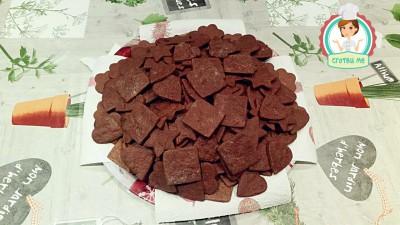 Какаови коледни сладки